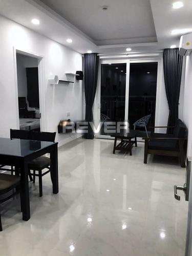 Căn hộ Saigon Mia tầng 18 view hồ bơi thoáng mát, đầy đủ nội thất.