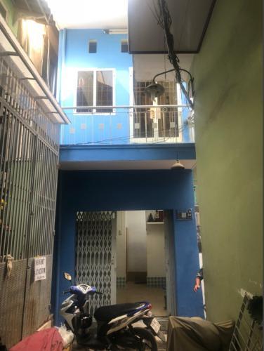 Nhà phố Quận 6 hẻm xe máy kết cấu 2 tầng, hẻm xe máy.