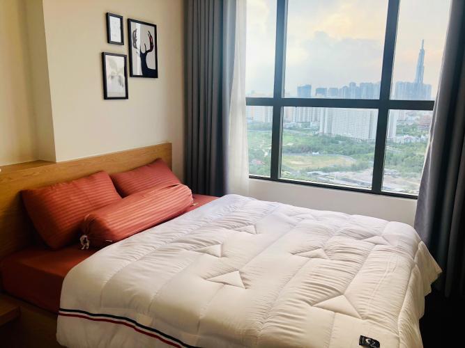 Phòng ngủ The Sun Avenue Căn hộ The Sun Avenue tầng cao, nội thất đầy đủ.