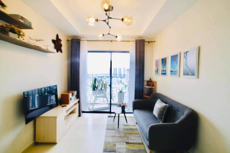 Cho thuê căn hộ M-One Nam Sài Gòn 2 phòng ngủ, diện tích 60m2