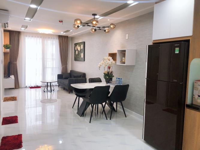 Căn hộ Saigon South Residence 2PN, diện tích 75m2, đầy đủ nội thất, ban công hướng Bắc
