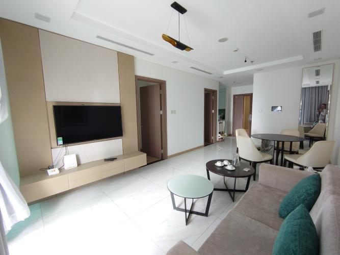 Căn Officetel tầng cao view nội khu yên tĩnh, đầy đủ nội thất.