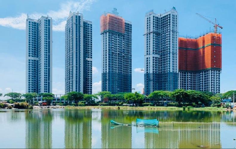 Căn hộ Eco Green Saigon, Quận 7 Căn hộ Eco Green Saigon ban công hướng Đông Nam, view thành phố.