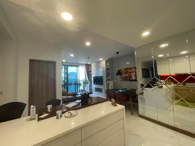 Căn hộ Sunwah Pearl tầng 19 view nội khu yên tĩnh, đầy đủ nội thất.