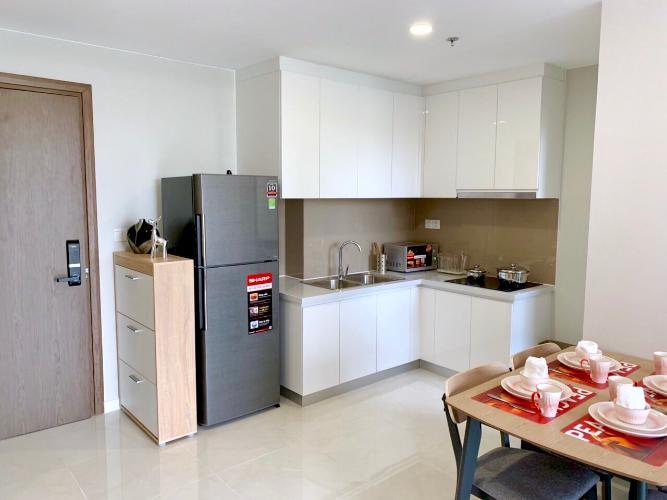 bếp căn hộ Masteri An Phú Căn hộ tầng thấp Masteri An Phú nội thất tiện nghi.
