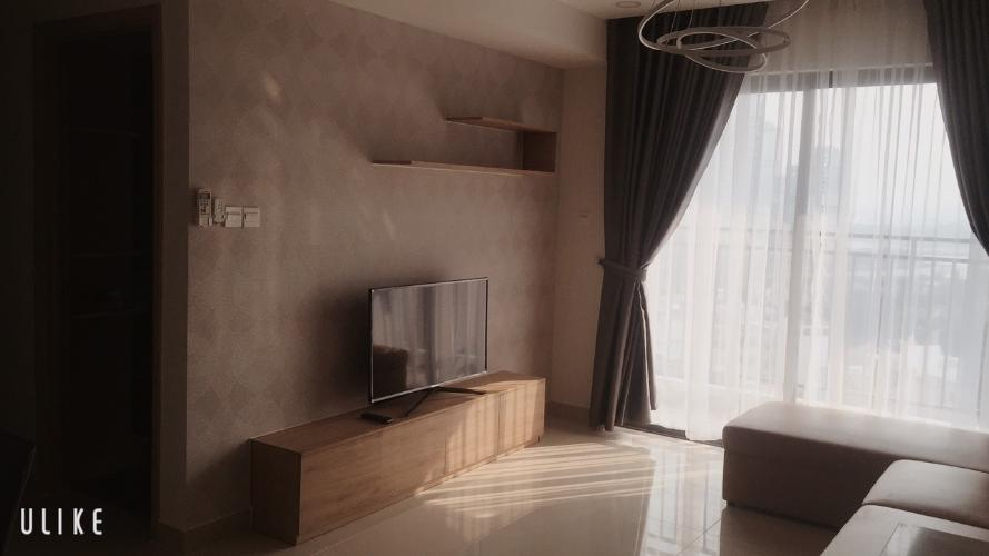 phòng khách căn hộ  3 phòng ngủ the sun avenue Căn hộ đầy đủ nội thất The Sun Avenue hướng Tây Nam.