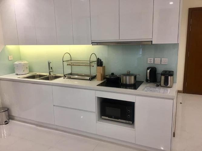 Phòng bếp Vinhomes Central Park Căn hộ Vinhomes Central Park tầng trung kèm nội thất đầy đủ.