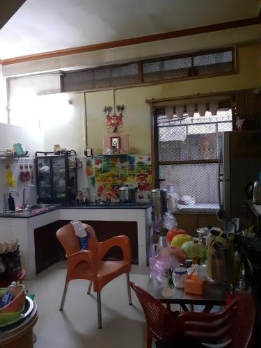 Khu vực bếp nhà phố Nhà phố diện tích sử dụng 104.3m2, hướng cửa Đông Bắc.