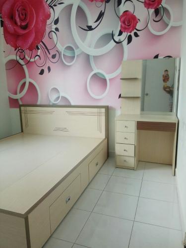 Phòng ngủ, Căn hộ Topaz Garden, Quận Tân Phú Căn hộ tầng 14 Topaz Garden hướng Đông Bắc thoáng mát, đầy đủ nội thất.