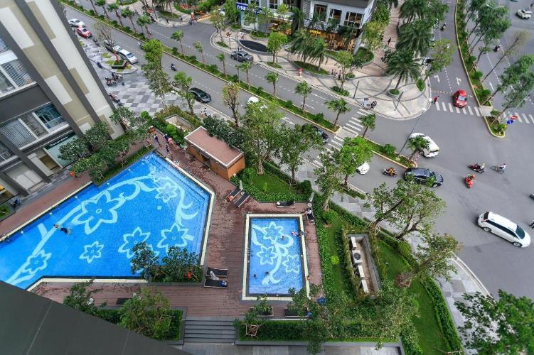 Tiện ích căn hộ Vinhomes Central Park , Quận Bình Thạnh Căn hộ Vinhomes Central Park tầng 35 thoáng mát, nội thất đầy đủ