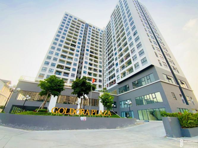 Căn hộ Goldora Plaza, Nhà Bè Căn hộ Goldora Plaza tầng 17 view hướng Đông Nam, nội thất cơ bản.