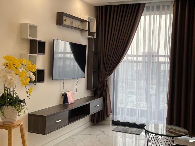 Căn hộ Sunshine City Saigon tầng 21 view thành phố, đầy đủ nội thất.