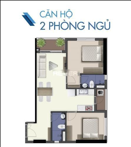 Căn hộ Q7 Saigon Riverside tầng 15 thiết kế hiện đại, nội thất cơ bản.