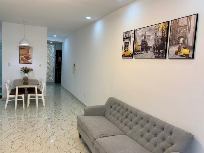 Phòng khách Sky Garden 3 Căn hộ tầng 6 Sky Garden 3 nội thất đầy đủ hiện đại
