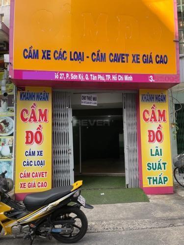 Nhà phố Quận Tân Phú Nhà phố hẻm xe hơi quay đầu, kết cấu 1 trệt 1 gác gỗ tiện ích đầy đủ.