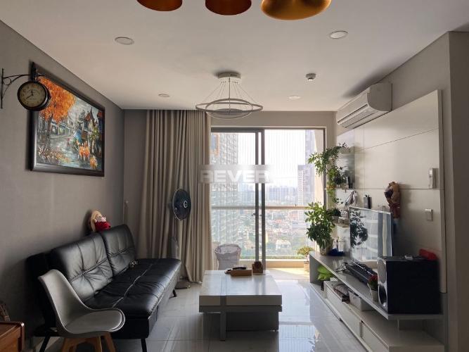 Phòng khách An Gia Riverside, Quận 7 Căn hộ An Gia Riverside ban công hướng Tây, đầy đủ nội thất.