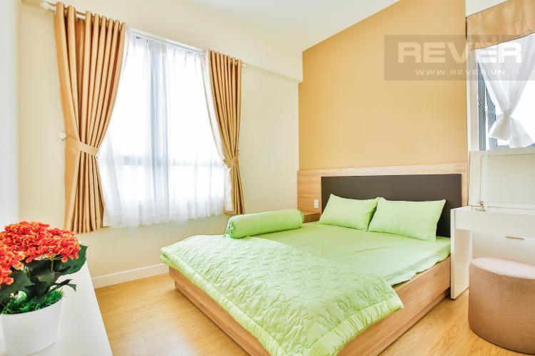 Phòng ngủ lớn với hướng cửa sổ chính Đông Bắc Căn góc tầng cao T4A Masteri Thảo Điền