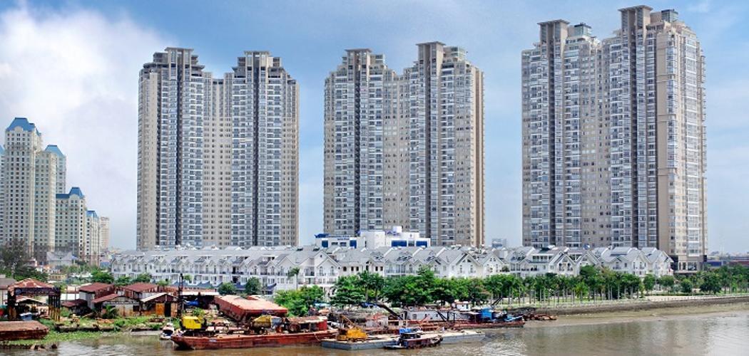 Saigon Pearl Quận Bình Thạnh Căn hộ Saigon Pearl tầng cao, view sông Sài Gòn.