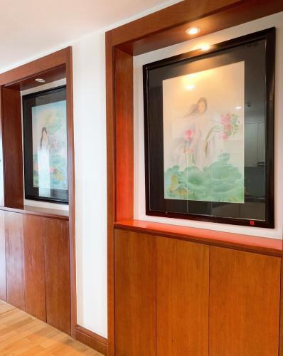 Không gian căn hộ The Manor, Quận Bình Thạnh Căn Officetel The Manor thiết kế hiện đại, bàn giao đầy đủ nội thất.