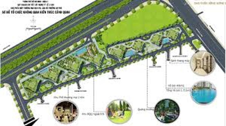 Dự án căn hộ The Sun Avenue, Quận 2 Căn hộ The Sun Avenue tầng 20 view thành phố thoáng đãng.