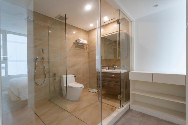 Phòng tắm , Căn hộ Léman Luxury Apartment , Quận 3 Căn hộ Léman Luxury Apartment tầng 10 view thoáng mát, đầy đủ nội thất.