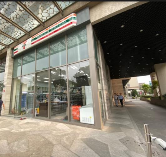 Shophouse Masteri Millennium căn góc lối dân cư ra vào, nội thất cơ bản.