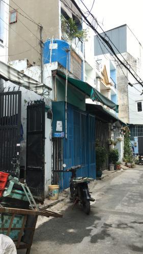 Mặt tiền nhà phố Nhà phố Quận 12 cửa hướng Nam diện tích 60m2, hẻm xe máy.
