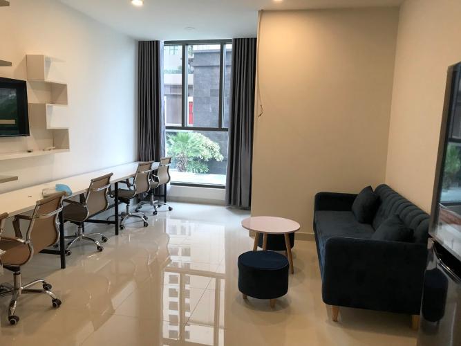 Căn hộ office-tel Saigon Royal nội thất cơ bản, view thoáng mát.