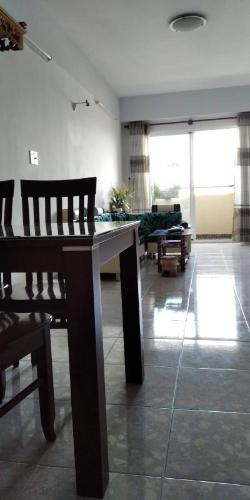 Căn hộ chung cư Khang Gia tầng thấp view thành phố, đầy đủ nội thất.