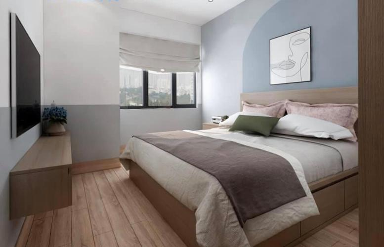 Phòng ngủ River Panorama, Quận 7 Căn hộ River Panorama tầng cao, view thoáng mát.