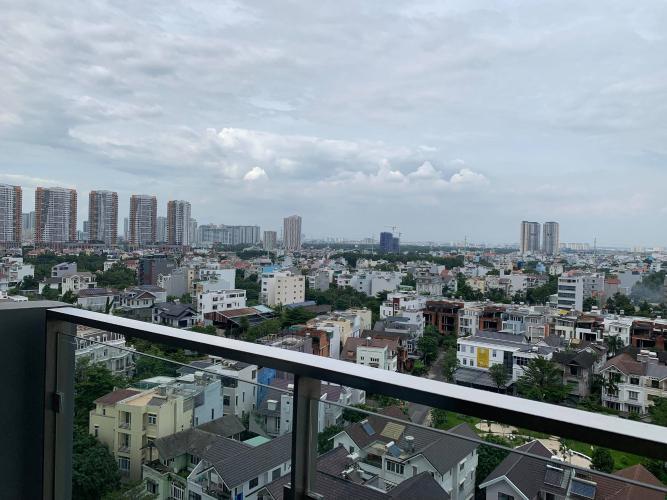 View One Verandah Quận 2 Căn hộ One Verandah tầng trung hoàn thiện cơ bản, view thành phố.