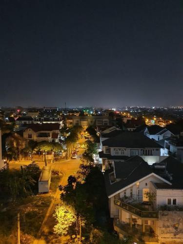 View căn hộ Green Hills Apartment, Bình Tân Căn hộ Green Hills Apartment hướng Nam tầng trung.