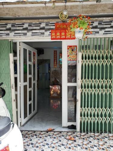 Căn hộ chung cư Ấn Quang không có nội thất, hướng Tây Nam.