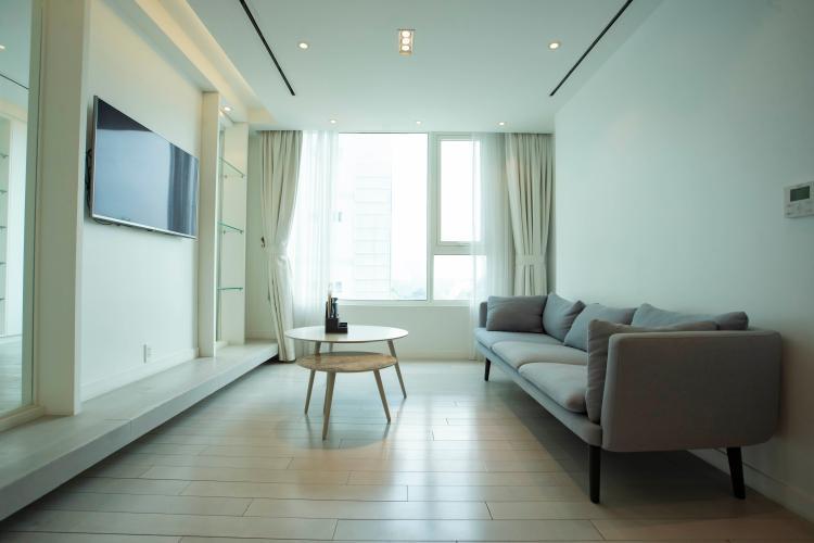 Căn hộ tầng 12 Léman Luxury Apartment view thoáng mát, đầy đủ nội thất.