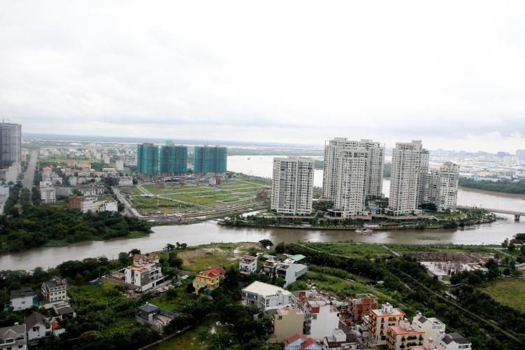view cảnh căn hộ The Sun Avenue Căn hộ 3 phòng ngủ The Sun Avenue view đảo Kim Cương siêu đẹp