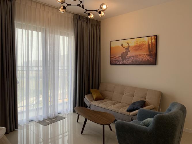 Căn hộ Palm Heights tầng 12 view thoáng mát, đầy đủ nội thất.