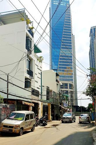 Đường trước nhà phố Quận Bình Thạnh Nhà phố mặt tiền đường Võ Duy Ninh cách Vinhomes 100m, không có nội thất.