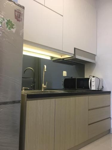 Bếp Căn hộ THE SUN AVENUE Cho thuê officetel The Sun Avenue tầng thấp, diện tích 40m2 - 1 phòng ngủ, đầy đủ nội thất