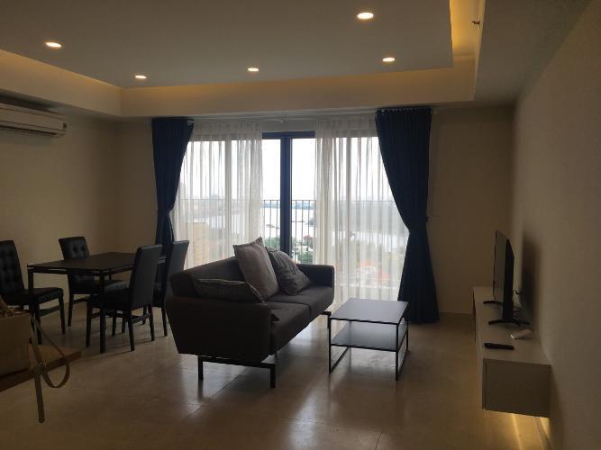 Căn hộ có 3 phòng ngủ Masteri Thảo Điền tầng 17, đầy đủ nội thất.