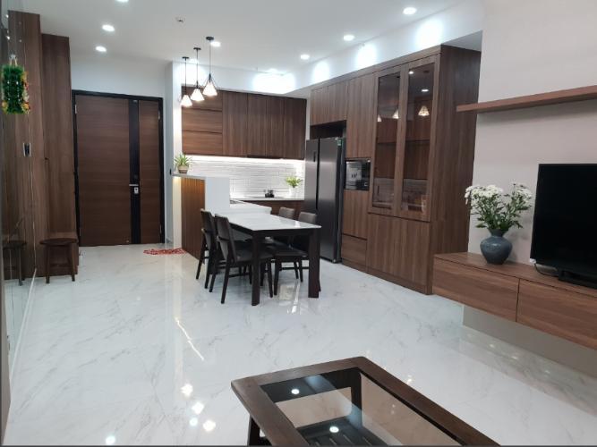 Căn hộ tầng thấp Phú Mỹ Hưng Midtown 2 phòng ngủ, đầy đủ nội thất.