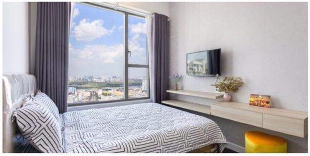 Phòng ngủ River Gate, Quận 4 Căn hộ Rivergate Residence tầng cao, view thành phố tuyệt đẹp.