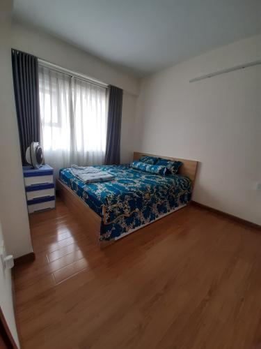Phòng ngủ , Căn hộ Flora Fuji , Quận 9 Căn hộ Flora Fuji tầng trung view thoáng mát, nội thất đầy đủ.