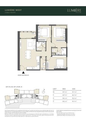 Căn hộ Masteri Lumiere Riverside thiết kế hiện đại, nội thất cơ bản.