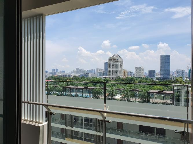 view từ căn hộ Phú Mỹ Hưng Midtown Căn hộ Phú Mỹ Hưng Midtown nội thất cơ bản, view thành phố thoáng mát.