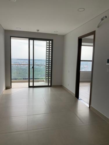 Phòng khách căn hộ River Panorama, Quận 7 Căn hộ river Panorama tầng 9 ban công hướng Nam, view thoáng mát.