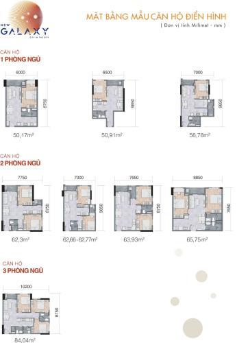 Căn hộ New Galaxy tầng thấp, nội thất cơ bản mới tinh.