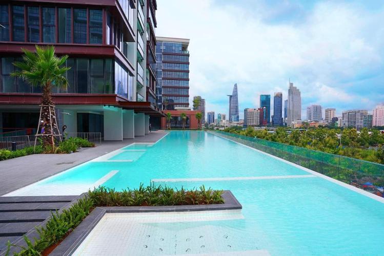Tiện ích căn hộ The Metropole Thủ Thiêm, Quận 2 Căn hộ The Metropole Thủ Thiêm tầng 6, có 1 phòng ngủ view thoáng mát.