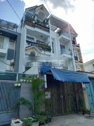 Nhà phố 1 trệt 3 lầu gần chung cư Thái An, cách cầu vượt Quang Trung 100m