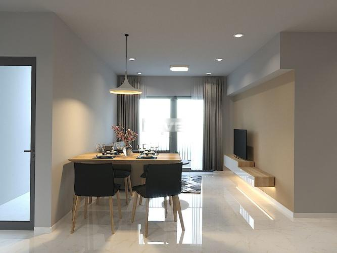 Căn hộ tầng cao Masteri An Phú cửa hướng Tây, đầy đủ nội thất.