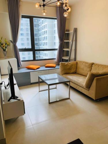 Căn hộ Masteri Thảo Điền tầng A23 thiết kế hiện đại, đầy đủ nội thất.